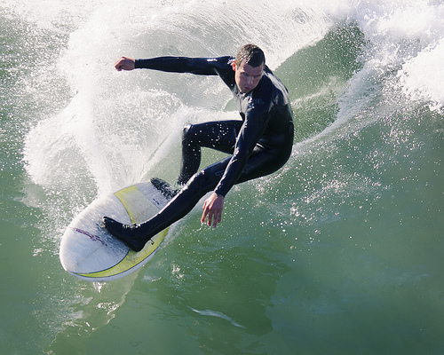Purpose Surfing – the difference between filling time and seizing the day